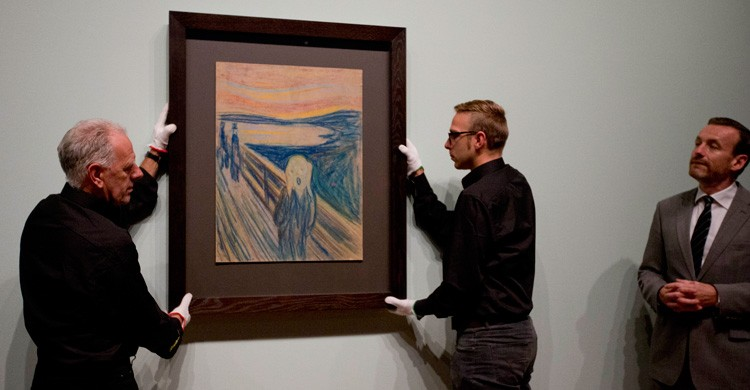 """El Grito"", de Edvard Munch. Peter De Jong (AP Photo)"