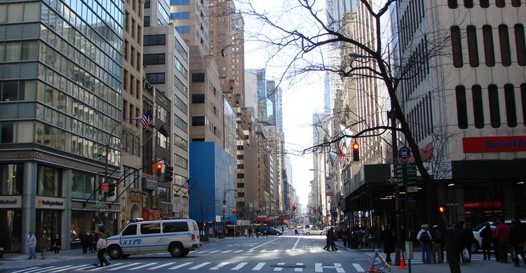 Quinta Avenida de Nueva York. Allie Caulfield (Flickr)