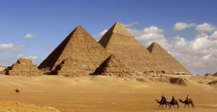 Las pirámides de Gizah (iStock)