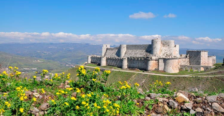 Castillo de Saladino (fuente: UNESCO)