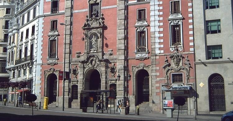Iglesia de San José, en el número 43. Luis García (Flickr).