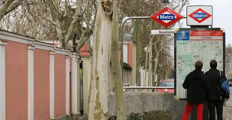 Tramo de la calle en Suanzes, cerca ya de Canillejas. Antonio Tajuelo (flickr).