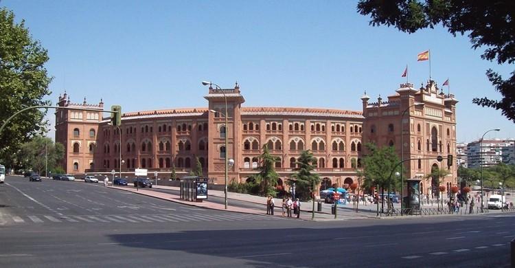 Plaza de toros de Las Ventas en la calle de Alcalá. Nieves Sebastián (Flickr).