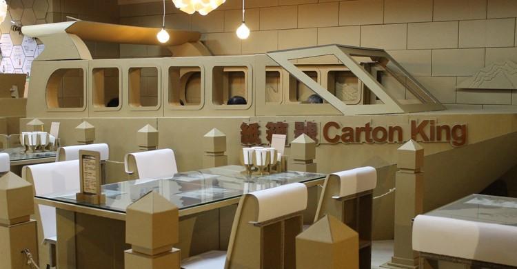 Restaurante Carton King. Connie Ma, Flickr