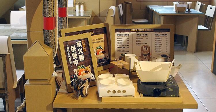 Presentación del restaurante Carton King. Connie Ma, Flickr