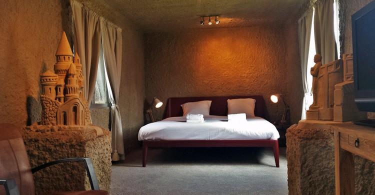 Habitación del Zand Hotel, Sneek