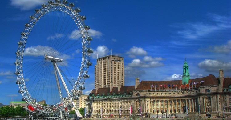 London Eye. Jim Boud (Flickr)