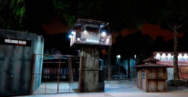 The Walking Dead Experiencie (Fuente: Parque de Atracciones de Madrid)