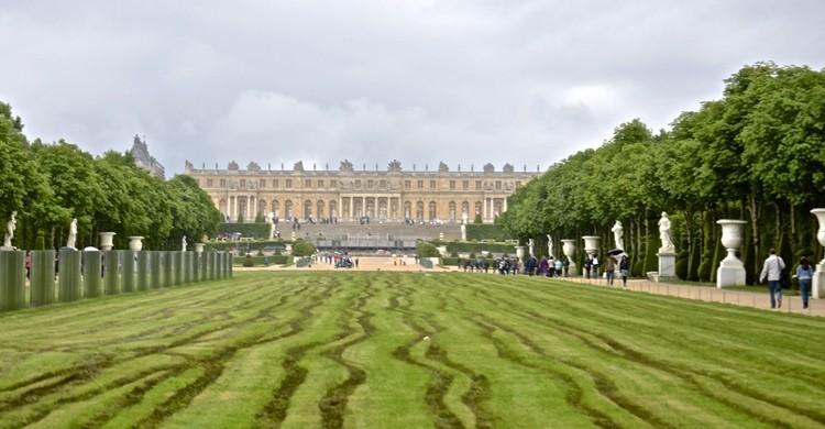 Imagen general de los jardines y el Palacio de Versalles. David McSpadden FLickr)