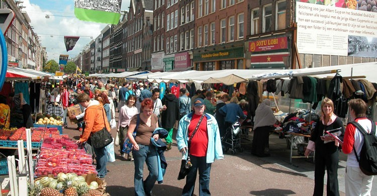 Imagen del Albert Cuyp Market. Photo RNW.org (Flickr)