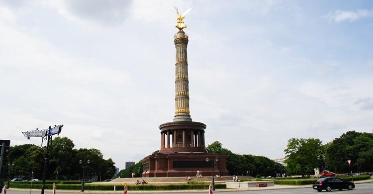 Obelisco de la Victoria en Tiergarten. Oh-Berlin.com (Flickr).