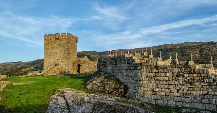 Vista del castillo de Linhares. Turismo En Portugal (Flickr)