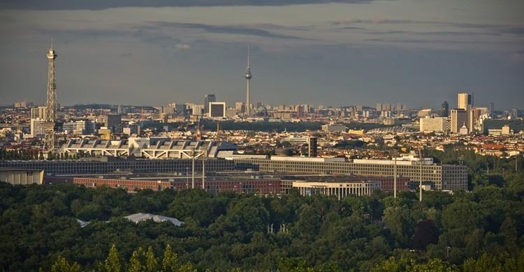 Vistas de Berlín desde Teufelsberg. Christoph (Flickr)