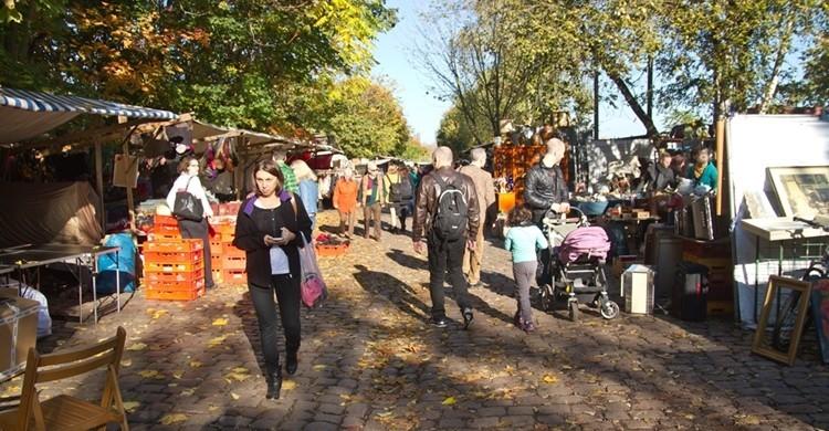 Meuerpark, en Berlín. (http://www.flohmarktimmauerpark.de/)