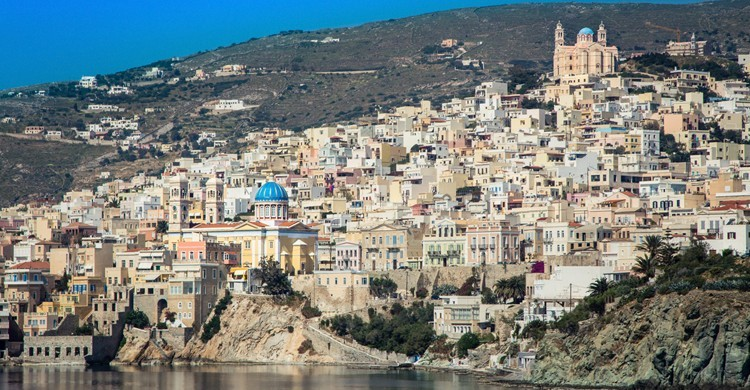 Vista de Ermoupolis. Jaume Escofet, Flickr