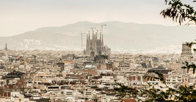 Panorama Sagrada Familia (Pixabay)