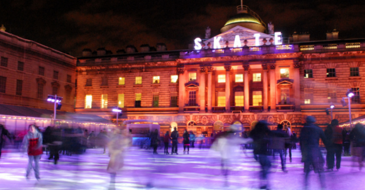 Somerset House Ice Rink - Wing (Flickr)