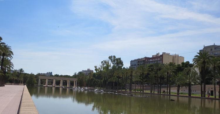 El río Turia a su paso por Valencia (Flickr)