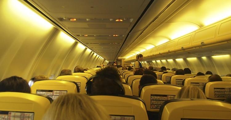 Vuelo de Ryanair (Flickr)