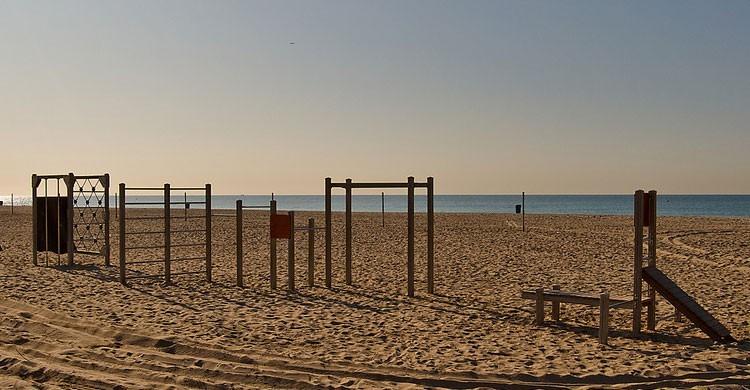 Playa de Castelldefels, Barcelona (Flickr)