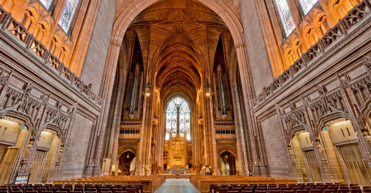 Catedral anglicana. Michael D. Beckwith (Flickr)