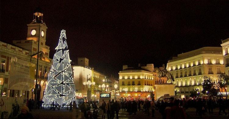 Puerta del Sol de Madrid (Flickr)