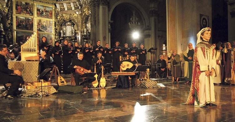 Canto de la Sibila en Mallorca (Fuente: paraula.org)
