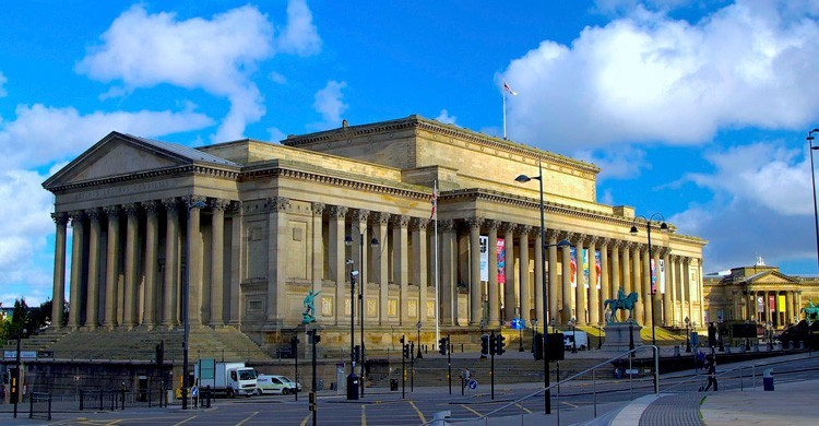 St George's Hall. Terry Kearney (Flickr)