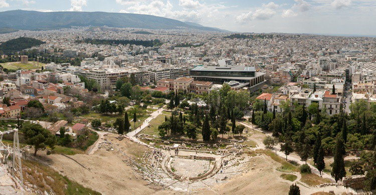 Vista de Atenas. piet theisohn (Flickr)