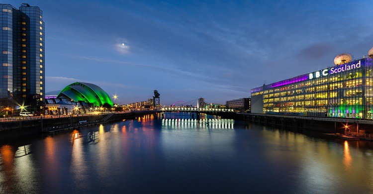 Vista de The Clyde, en Glasgow. Robert Brown (Flickr)
