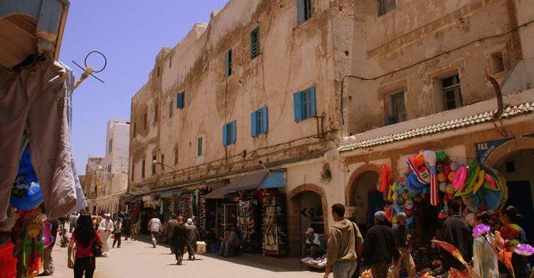 Callecita de Essaouira. Hydroxy (Flickr).
