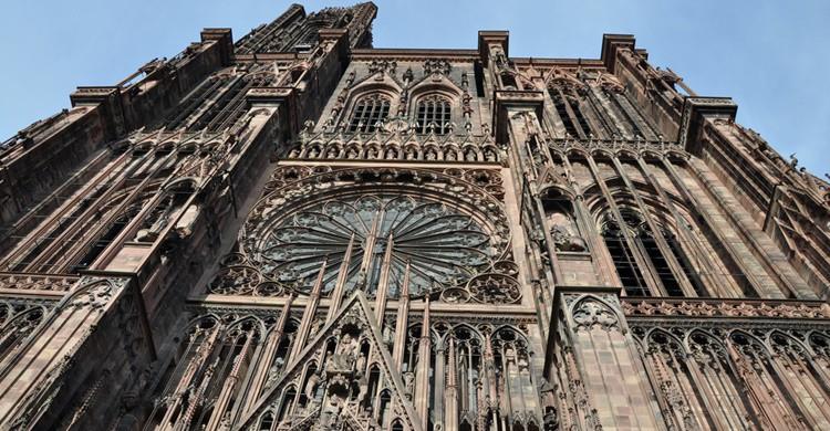 Catedral de Estrasburgo. Laszlo Daroczy (Flickr)
