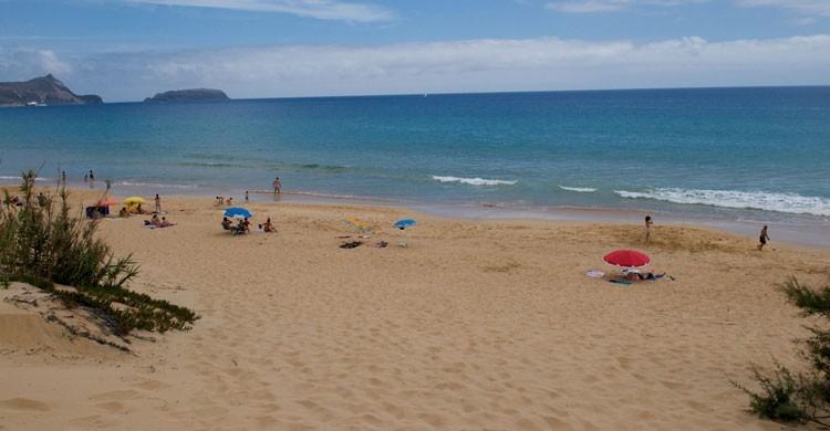 Imagen de la playa de Porto Santo. Ben30 (Flickr)