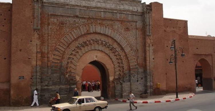 Vieja entrada a la Medina de Tameslouht. (www.travelpod.com).