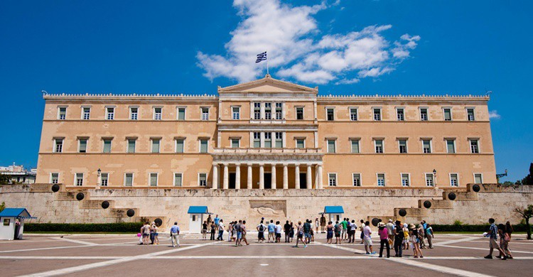 Parlamento griego en Atenas. Yoshi5000 (Flickr)