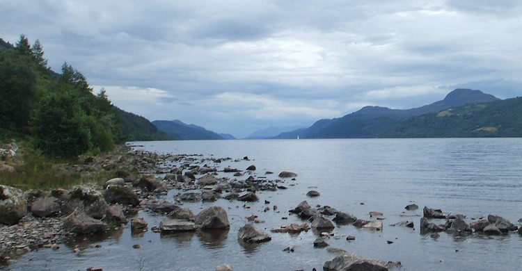 Vista de parte del Lago Ness. Dave Conner (Flickr)