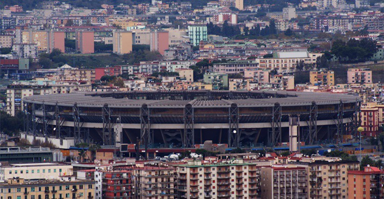 Vista del estadio de San Paolo. Davide Mancini (Flickr)