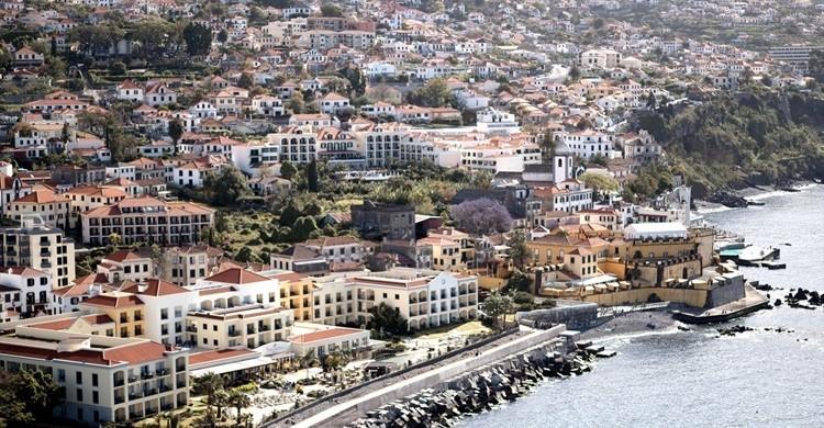 Vista de Funchal. PortoBay Hotels & Resorts (Flickr)