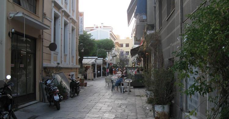Calle del barrio de Plaka. Ed (Flickr)