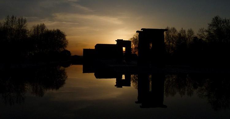 Templo de Debod. Marco Sky, Foter