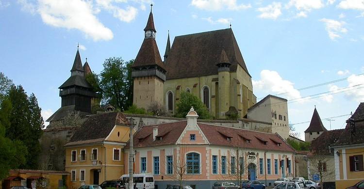 Iglesia fortificada de Biertan (wikimedia.org)