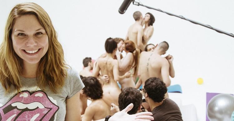 Rodaje de película erótica indie con Erika Lust. XConfessions Vol.1, Erika Lust Media Center