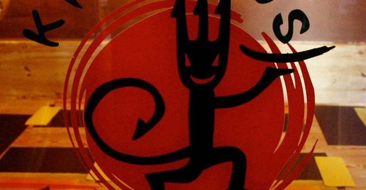Logo de Krampus. Restaurante Krampus