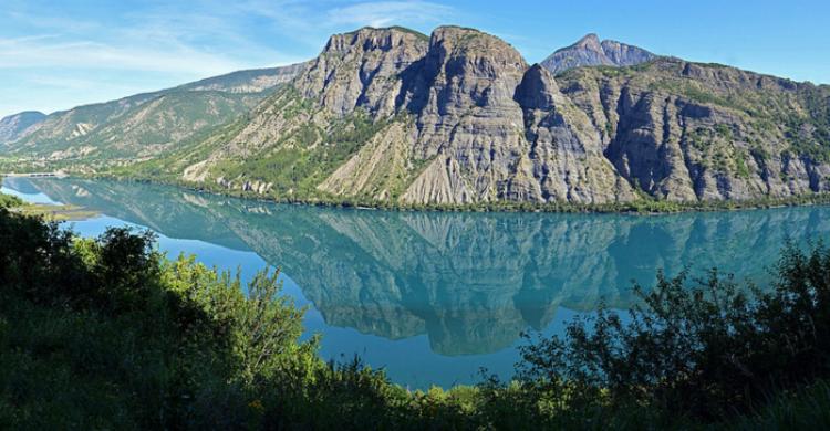 Lago de Serre Ponçon  - Giuliana Castellengo (Flickr)