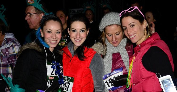 Corredoras del Midnight Run 2011-12. Charles Smith, Flickr
