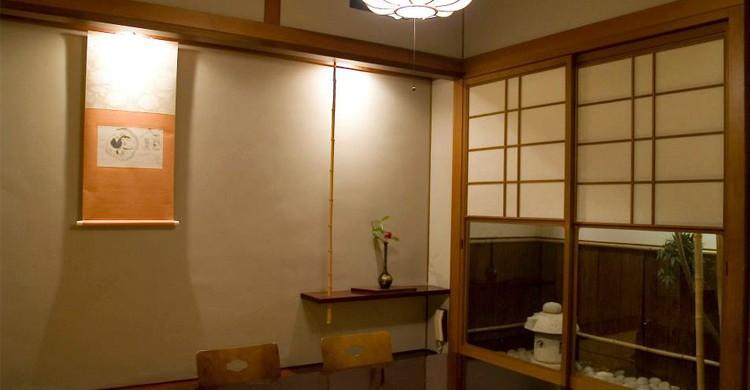 Sala del restaurante Yashima