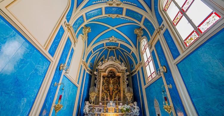 Interior del Duomo de Sorrento (iStock)