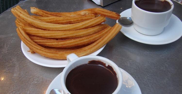 Chocolatería San Ginés (Flickr)
