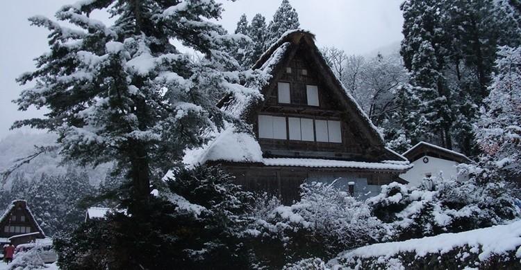 Características viviendas en Gokoyama.つだ (Flickr)