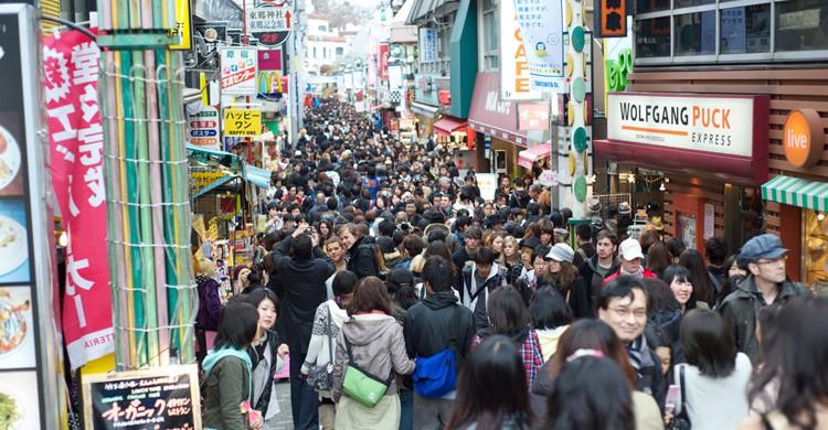 Calle Takeshita Dori en Harajuku (iStock)